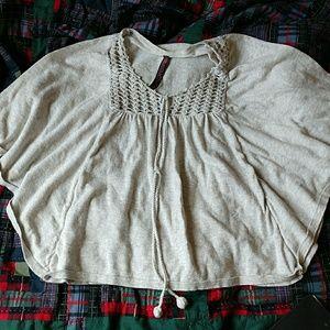 Boho circle shirt